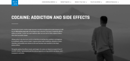 Help.org - Cocaine Addiction screenshot