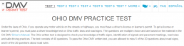 DMV Permit Practice Test - Ohio screenshot
