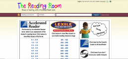 Accelerated Reading/Lexile Reading Levels: PCDL Catalog screenshot